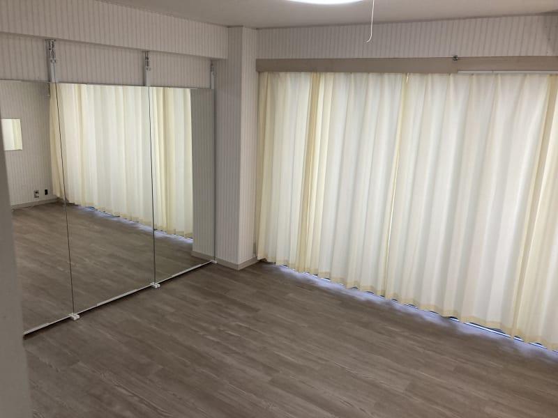 ヨガマット5枚ほど敷ける大きさです。 - pm2.standard603 レンタルスタジオの室内の写真