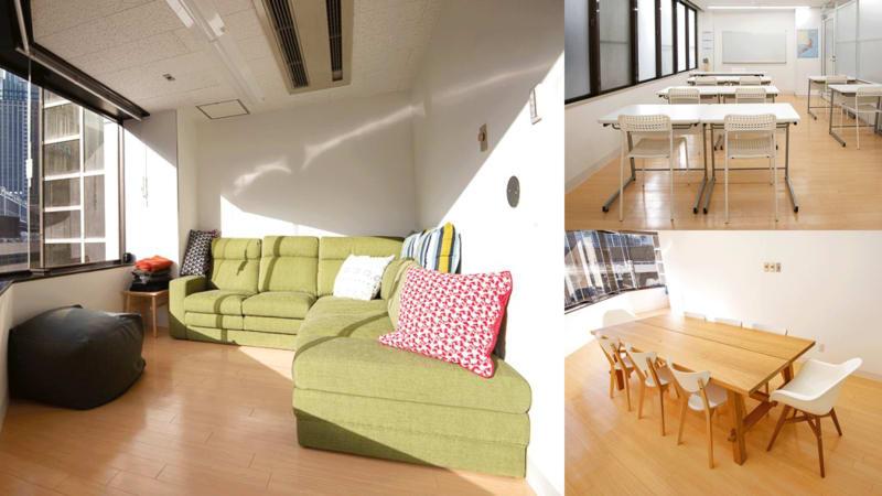 難波CITY南館前多目的スペース 2+1部屋自由使用ワンフロア貸切の室内の写真