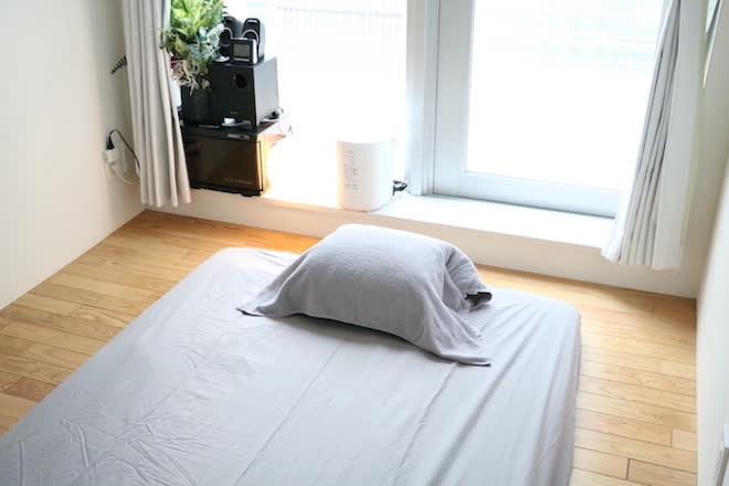 マットをセッティングした状態です - 千駄ヶ谷サロン レンタルサロンの室内の写真