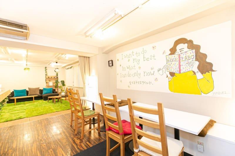 ROUGHLABO TECH扇町 イベントスペースの室内の写真