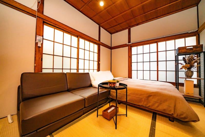 寝具は撮影等の目的でのみご利用ください。 - 河野壮 【202】大久保アパート一室の室内の写真
