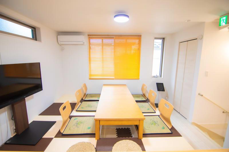 Fuente本羽田 蒲田・羽田空港近く一軒家の室内の写真