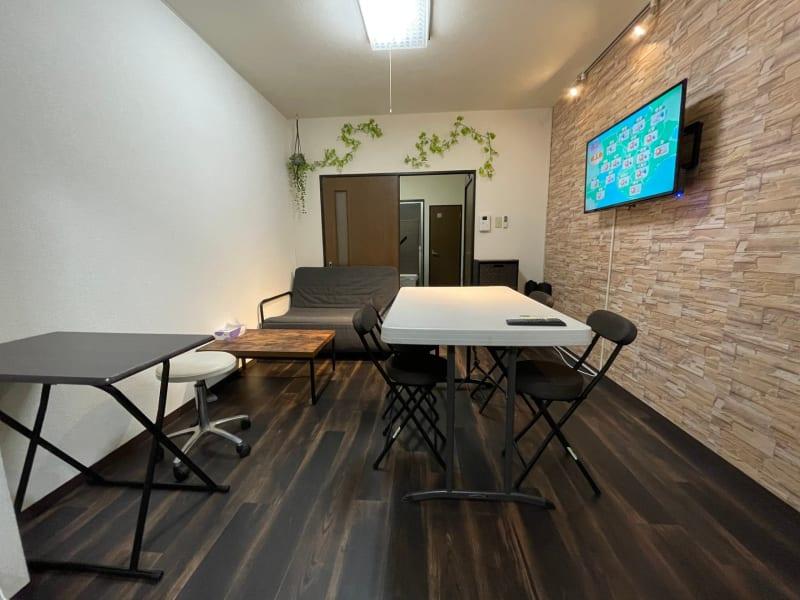 テレワーク、ミーティング、多目的スペース - パートレ天下茶屋 ジム、多目的スペースの室内の写真