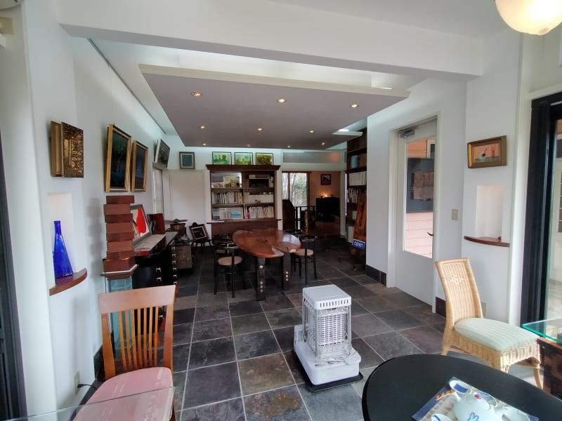 入ったところ石フロアー(土足) - GauHouse レンタルスペース、ガウハウスの室内の写真