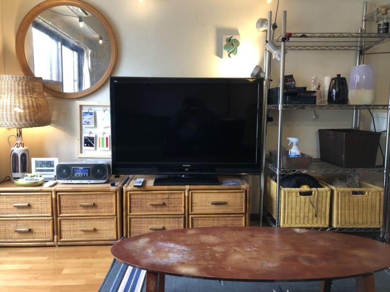 ソファからのアングルです。 - 喫煙可能なプライベートスペース 喫煙ワークスペースの室内の写真