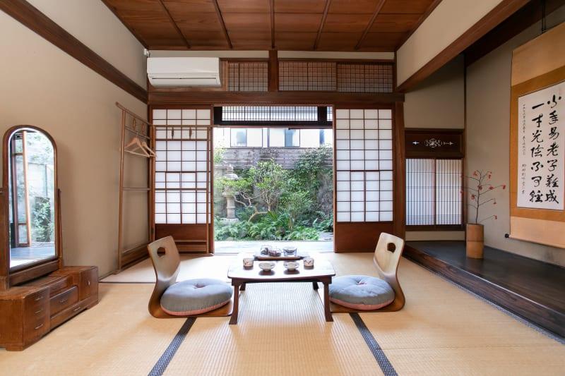 和個室 - 日暮荘 町家の個室で- 撮影プランの室内の写真