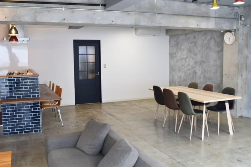 室内の様子。 - 日本橋スタジオ 撮影、会議室、リモートワークの室内の写真