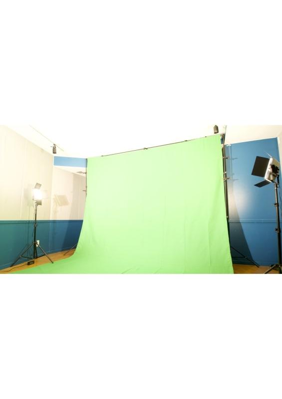 レコーディングスタジオPACKS 配信スタジオ/グリーンバック完備の室内の写真