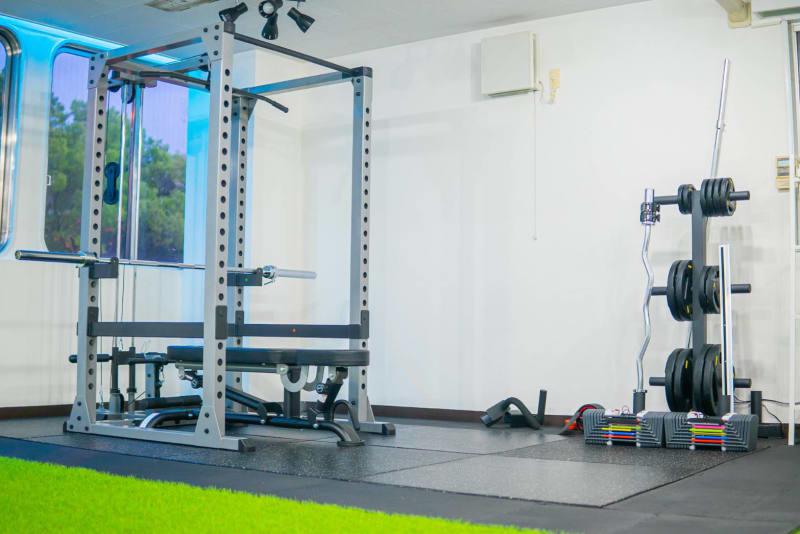 ジムNEXTパワーラック - レンタルスタジオNEXT レンタルジムNEXTの室内の写真