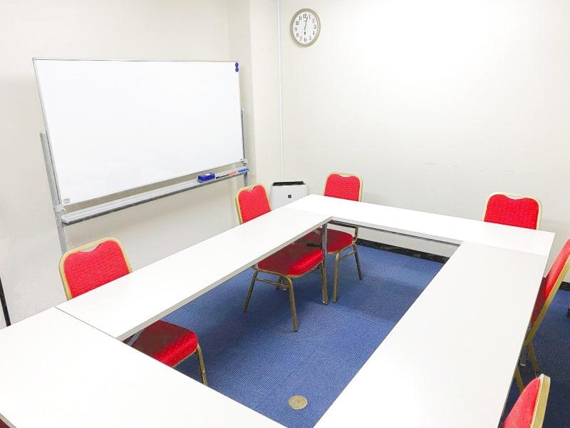 九段下神保町ビジネスセンター ミーティングルーム4Bの室内の写真