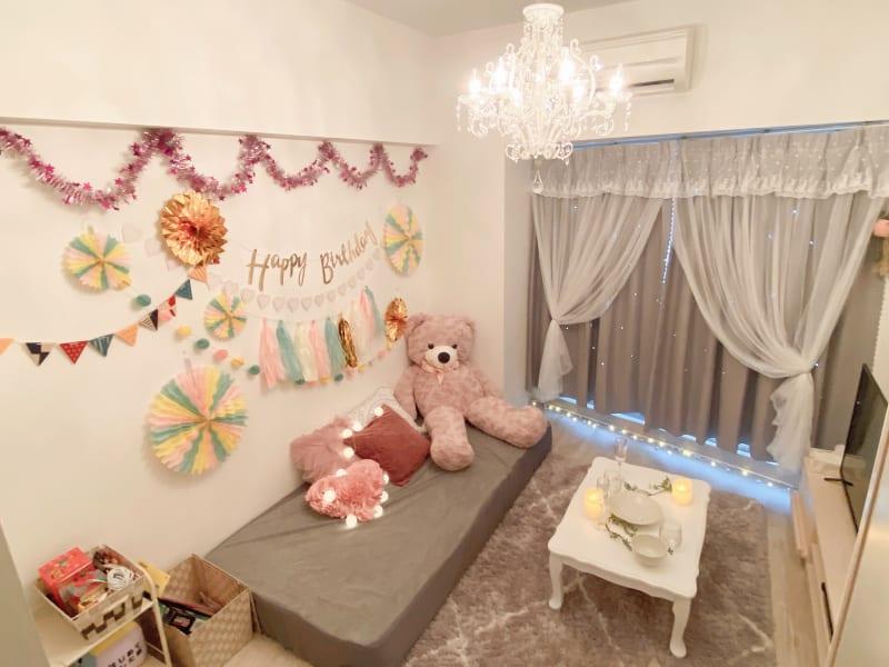 Rose名古屋 ㊗️お誕生日パーティースペースの室内の写真