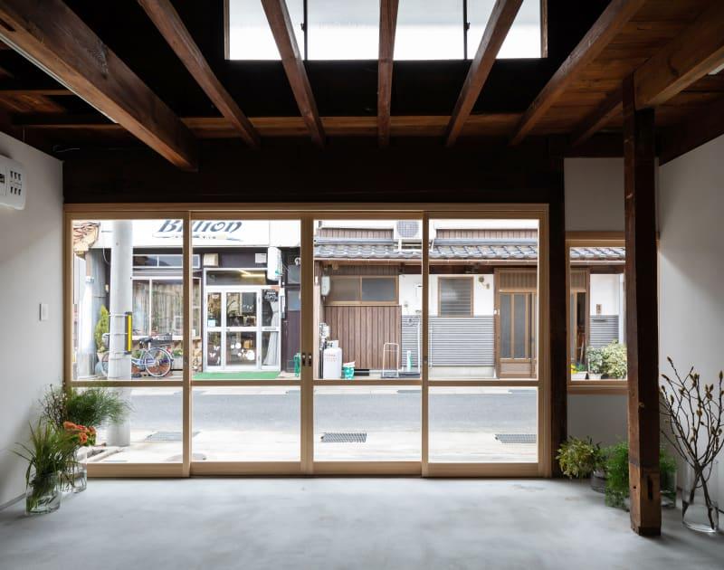 入り口付近 - 湯梨浜スタジオ 撮影スタジオギャラリーの室内の写真