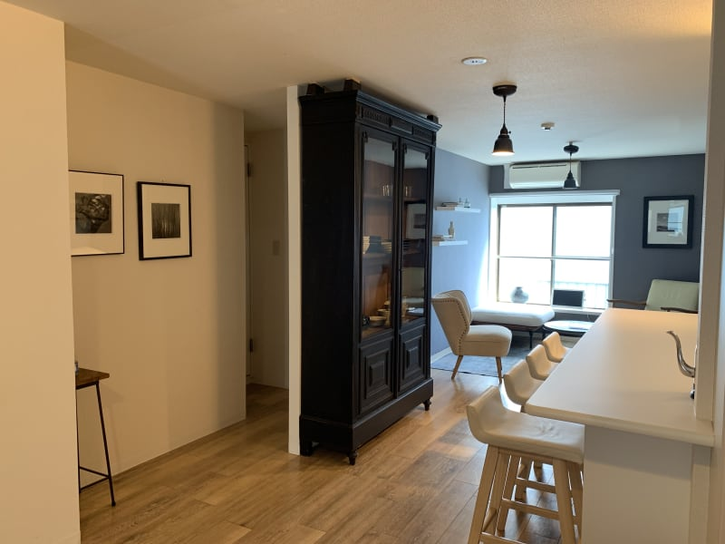 広々とした5LDKの空間 - ArtSpaceMONNAKA 5LDK+屋上スペースの室内の写真