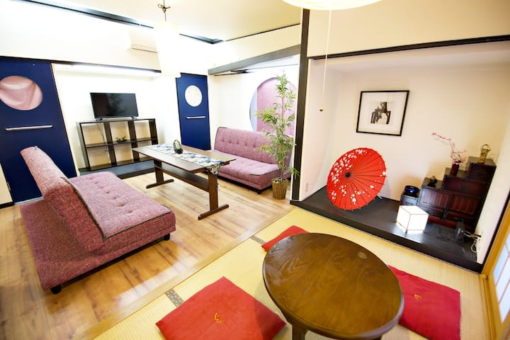 Share Space 向島 キッチン付きパーティールームの室内の写真
