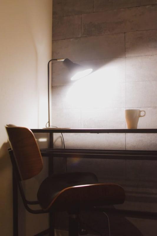 Share Space 芝浦1 テレワークスペースの室内の写真