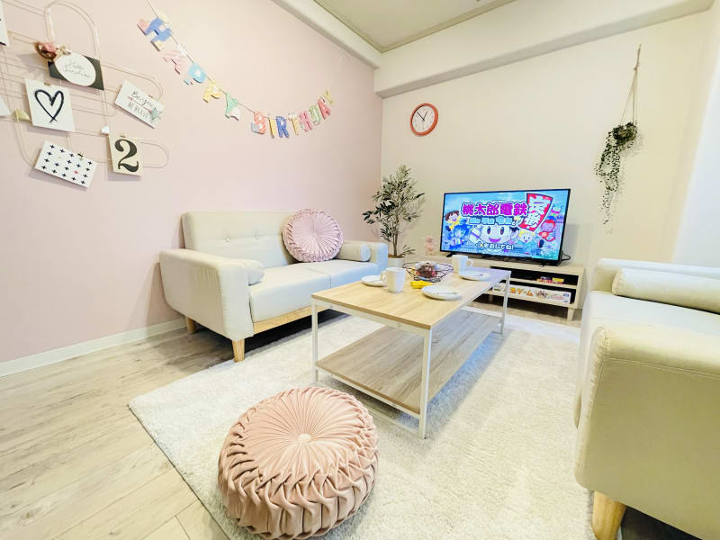 sunsun 三ノ宮 パーティースペースの室内の写真