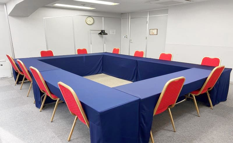 TKP新橋汐留ビジネスセンター ミーティングルーム103の室内の写真