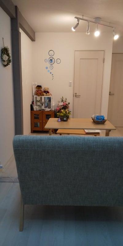 1階リビング - 清香 レンタルサロン・多目的スペースの室内の写真
