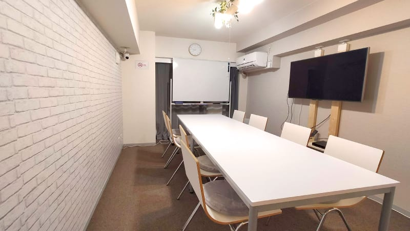 myRoom 渋谷・南平台 ミーティングルームの室内の写真