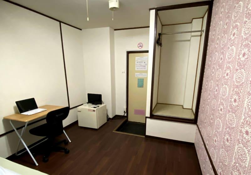 ホテル東洋 ワーキングスペースの室内の写真