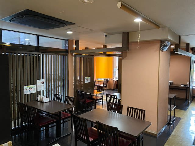 ホテルウィング都城 ホテル内レストランスペース利用の室内の写真