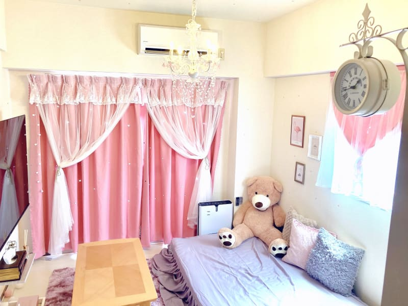 女子会、ママ会、デートに最適な、大人ガーリーなお部屋です💕 - レンタルスペース クオッカ スペースQuokka(クオッカ)の室内の写真