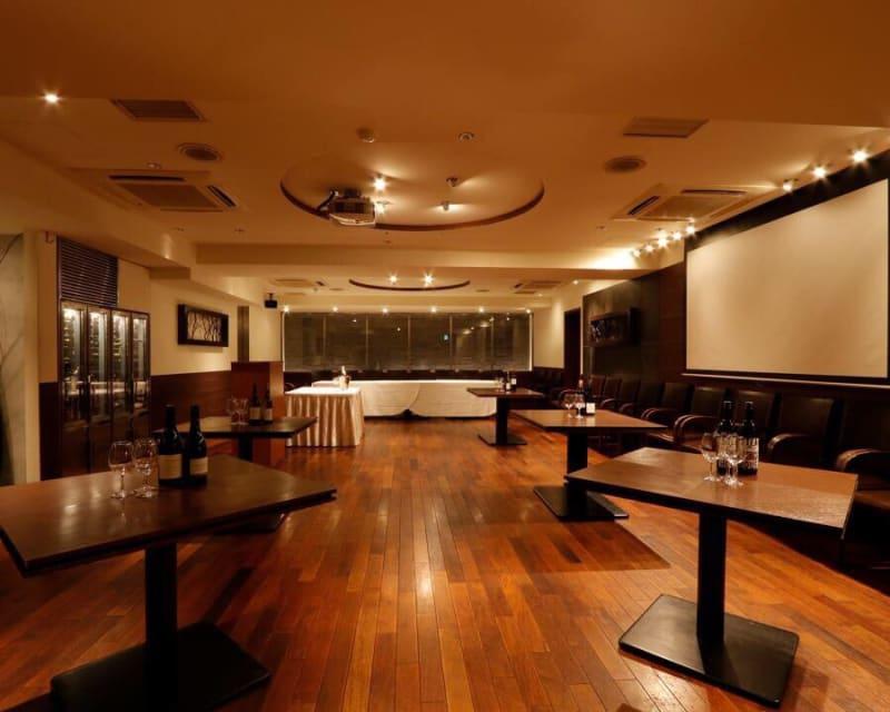 イベント/パーティ/宴会可能なメインフロア - レストランスペース白金 パーティ/TV撮影スペースの室内の写真