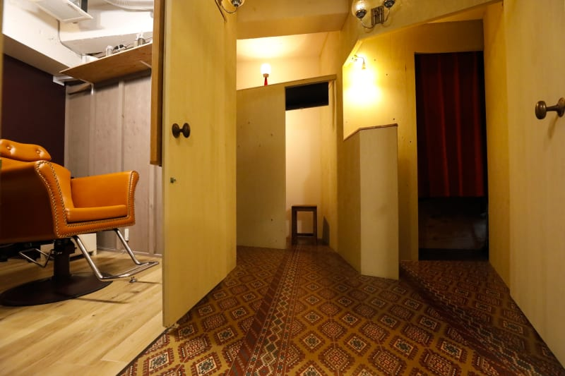 3個室と共用部すべてサロン貸切りできます - 個室のレンタル美容室 【サロン貸切り】1h 3650円の室内の写真