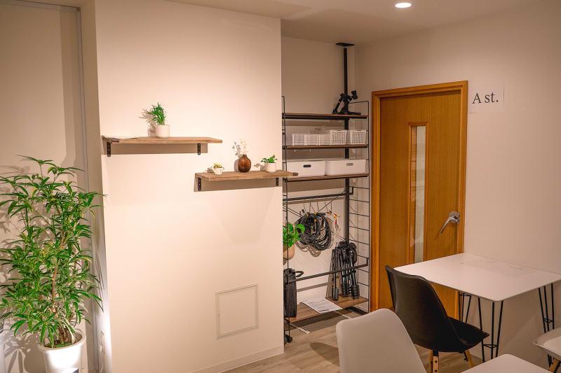 待合室 - ワオン・スタジオ御茶ノ水 Aスタジオ(電子ピアノ4帖)の室内の写真