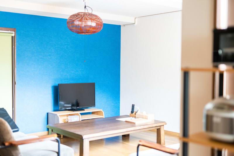 Zaimoku旅音 リビングの室内の写真