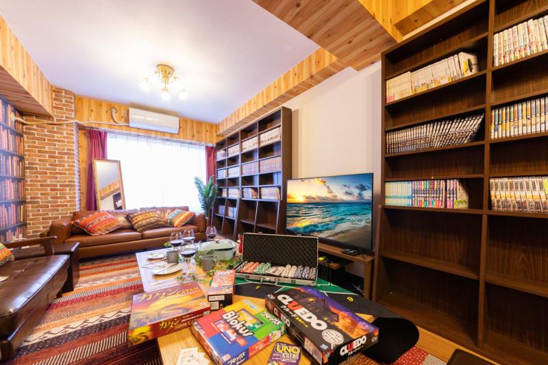 167_Livre新宿 パーティスペースの室内の写真