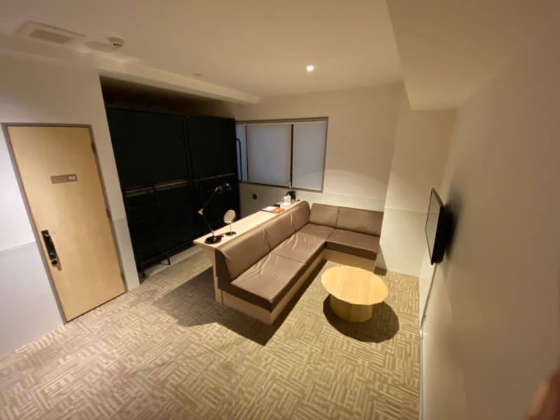 カモンホテルなんば テレワークスペース(2~3階)の室内の写真