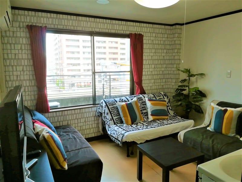コートホステル カラオケルームの室内の写真