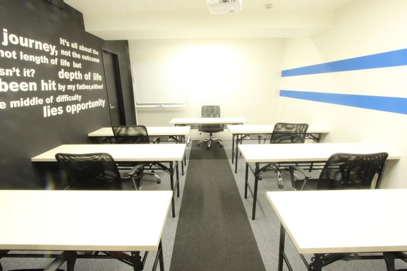 ビジネスセンター四谷 企業研修向け 貸し会議室の室内の写真