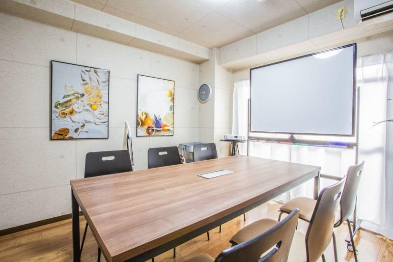 ふれあい貸し会議室天王寺アメニテ ふれあい貸し会議室天王寺D402の室内の写真