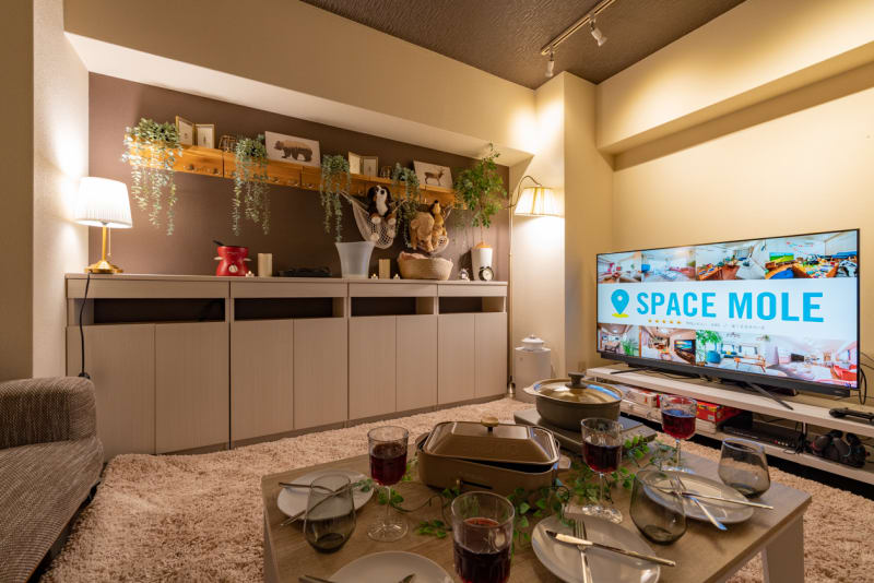 190_MOLE心斎橋 レンタルスペースの室内の写真