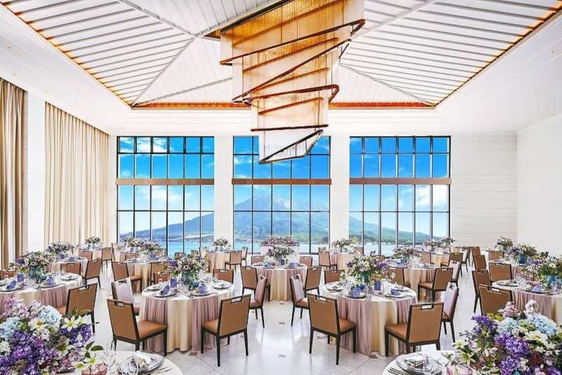 ザ・ベイスイート 桜島テラス 会議利用:メール-Mer-の室内の写真