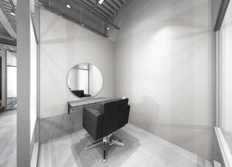 リコ今泉パークサイド サロンスペース モール型の室内の写真