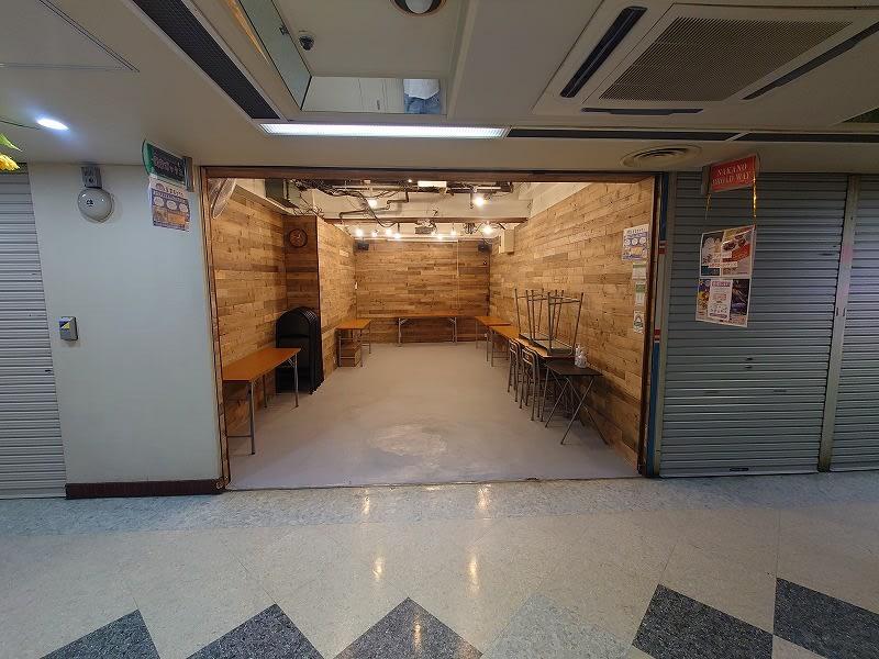 星空ボックス中野ブロードウェイ店 ポップアップストア貸しギャラリーの室内の写真
