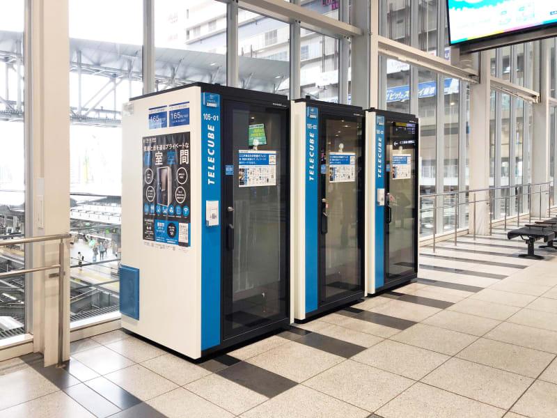 テレキューブ JR西日本 大阪駅改札外 105-02の室内の写真