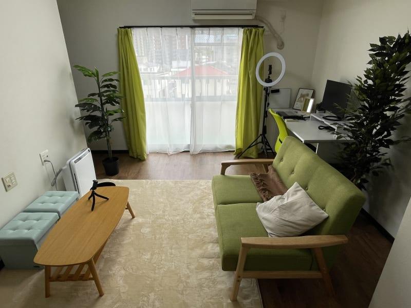 レンタルスペース緑ワーク宮崎店 会議室!/Web会議,面接/撮影の室内の写真