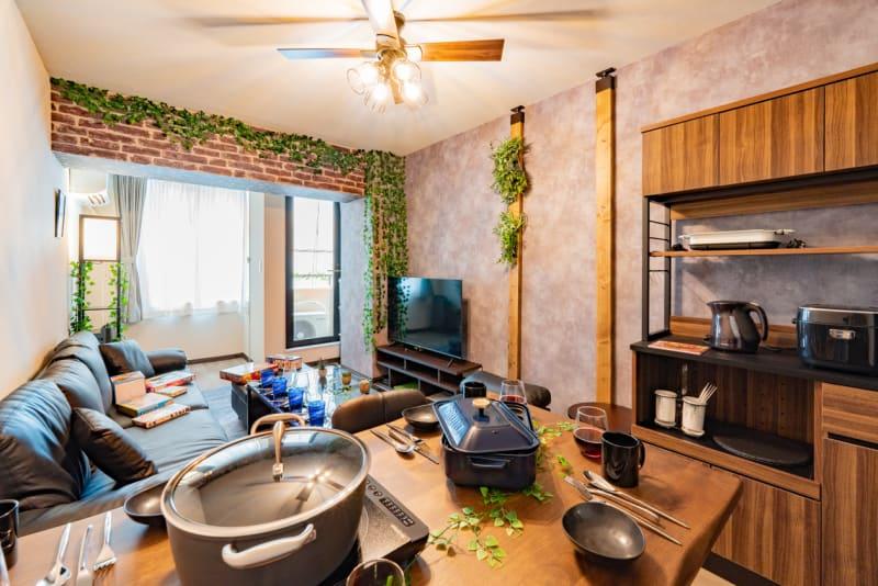 Botanical五反田 大人なボタニカルパーティールームの室内の写真