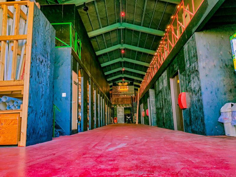 さいたま与野基地NICO 大型倉庫スタジオの室内の写真