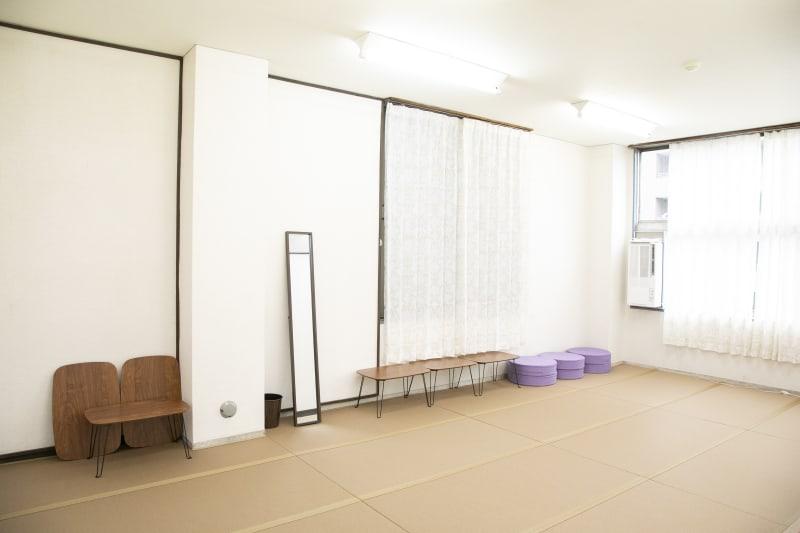 ひろびろ畳のスペースです。 - レンタルスペースキタヨン852 タタミルームの室内の写真
