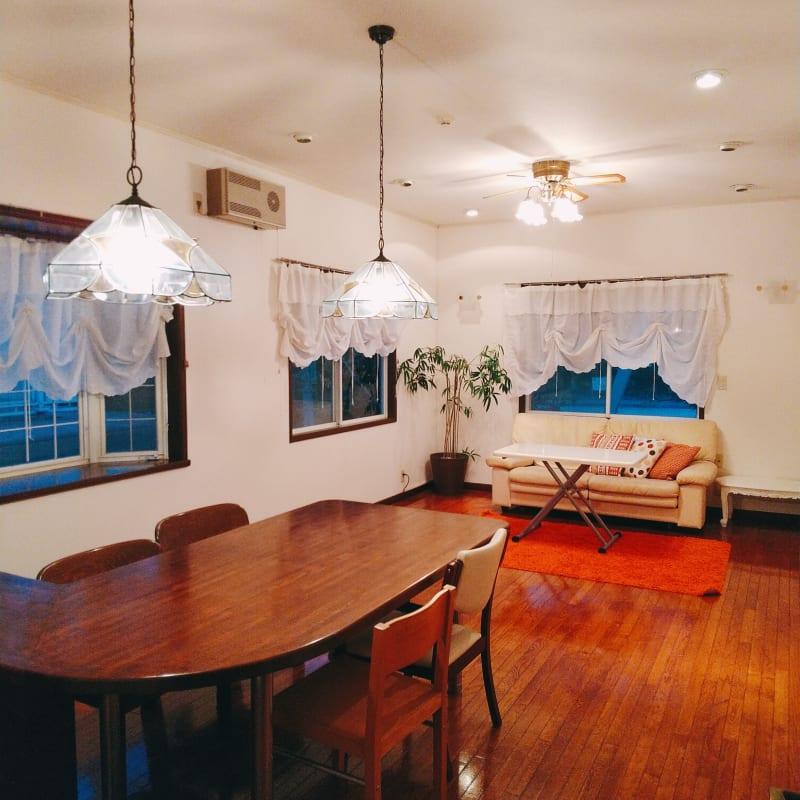 リビング入り口からみた写真 - 旗の台シェアハウス キッチン付きレンタルスペースの室内の写真