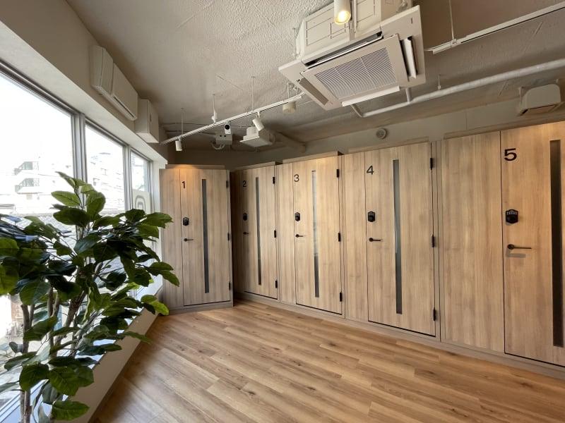 cocony武蔵小杉 個室ワークスペース武蔵小杉 2の室内の写真