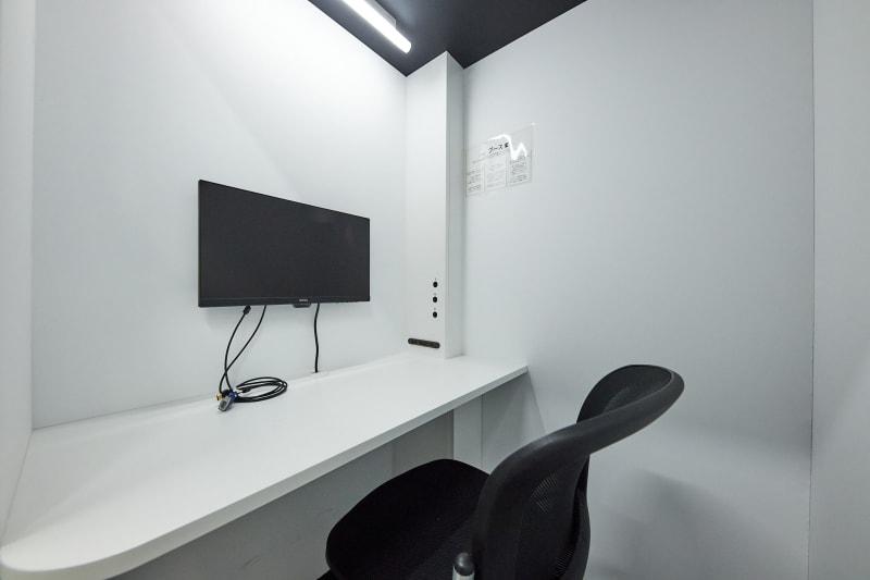 テレワークブース品川Ⅰ 京急第11ビル ブースHの室内の写真