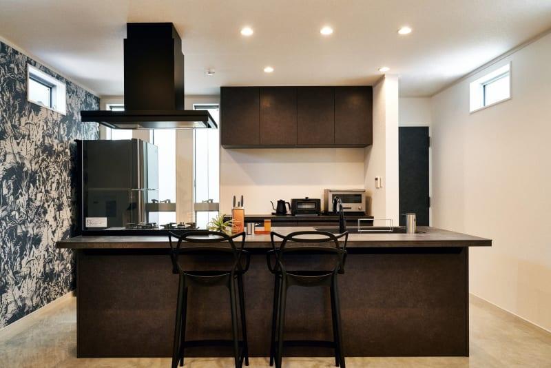 【2F】アイランドキッチン - COTERRACE 一軒家貸切の室内の写真