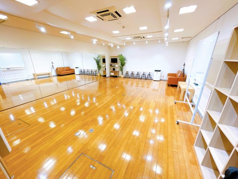 49㎡の広々としたスタジオです - レンタルスタジオOLI  三鷹店 中規模タイプ スタジオオリ2号店の室内の写真