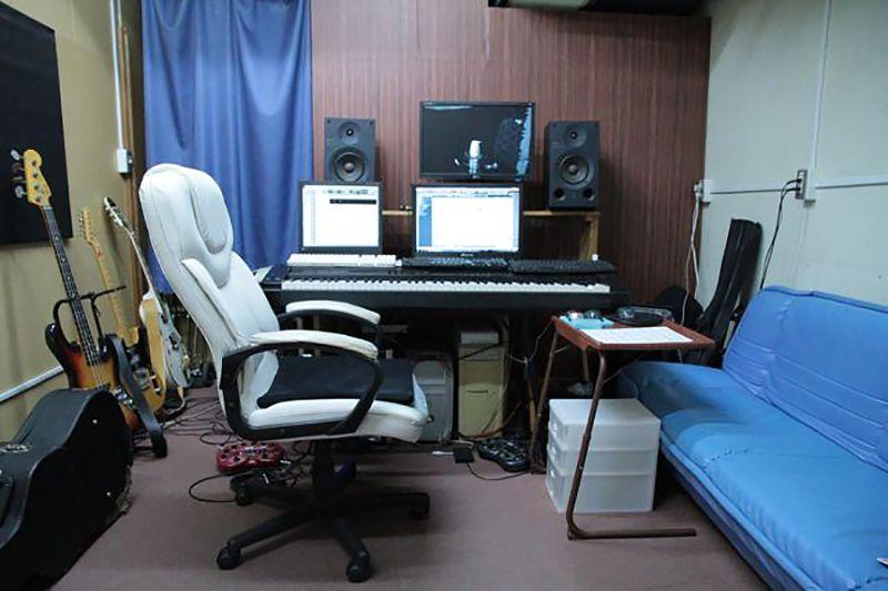 ビッグメイドミュージック Bスタジオの室内の写真
